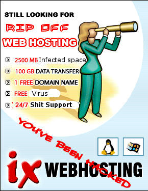 Ix web hosting worst host ever