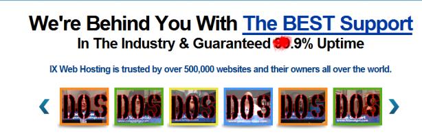 IX Web Hosting DOS Attack