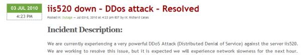 IX DOS Attack